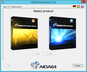 Domain Network Installer for AIDA64 - shot 1