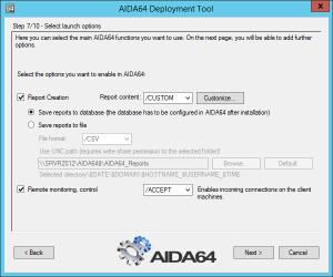 Domain Network Installer for AIDA64 - shot 2